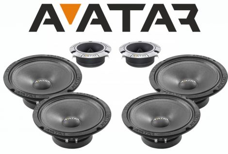 "AVATAR SPL4x6,5""-kit"