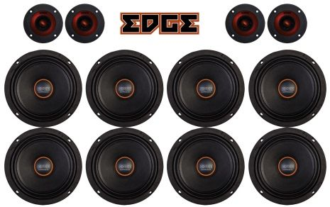 "8 x 6,5"" EDGE pro X paket"